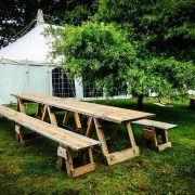 Tables for hire - perfect for your event